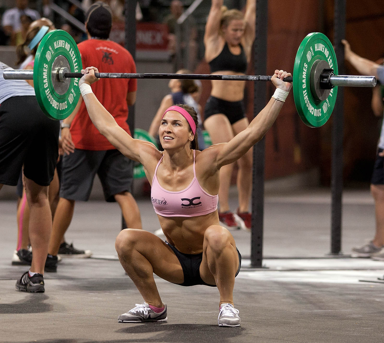 elite crossfitters on steroids