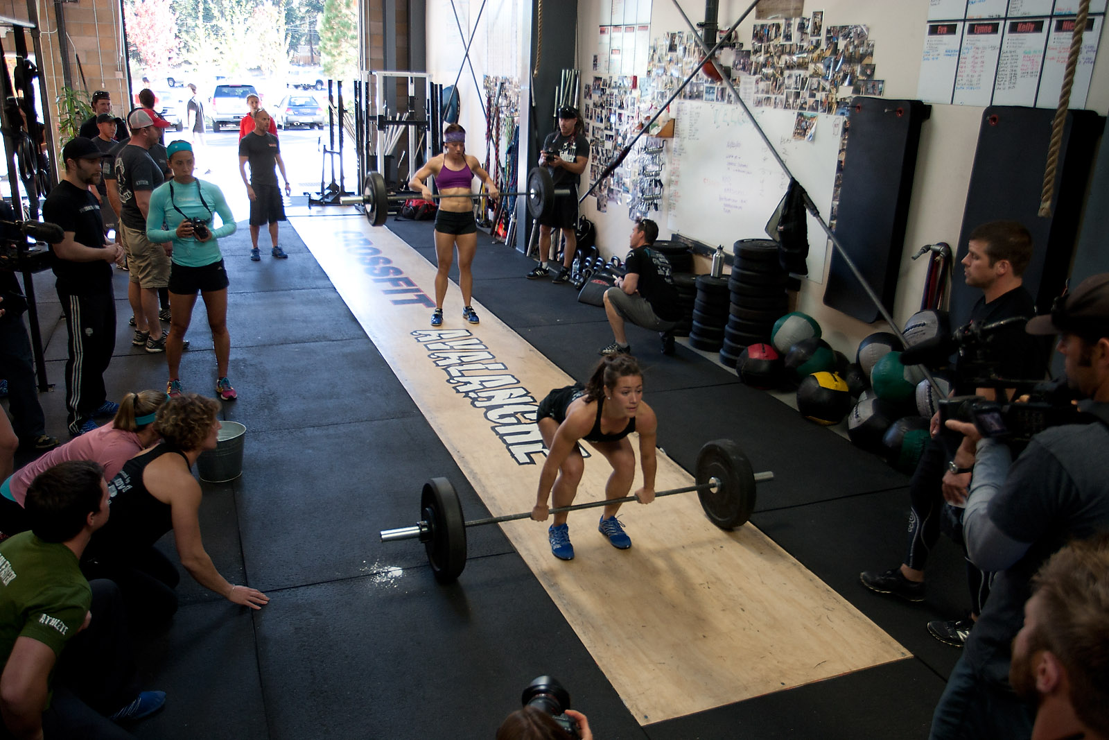 Hosting the tahoe throwdown crossfit games
