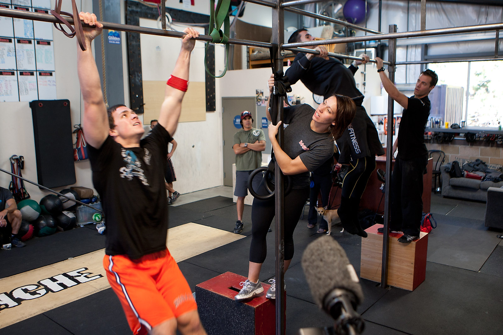 Tahoe event eight burpees and chest to bar pullups