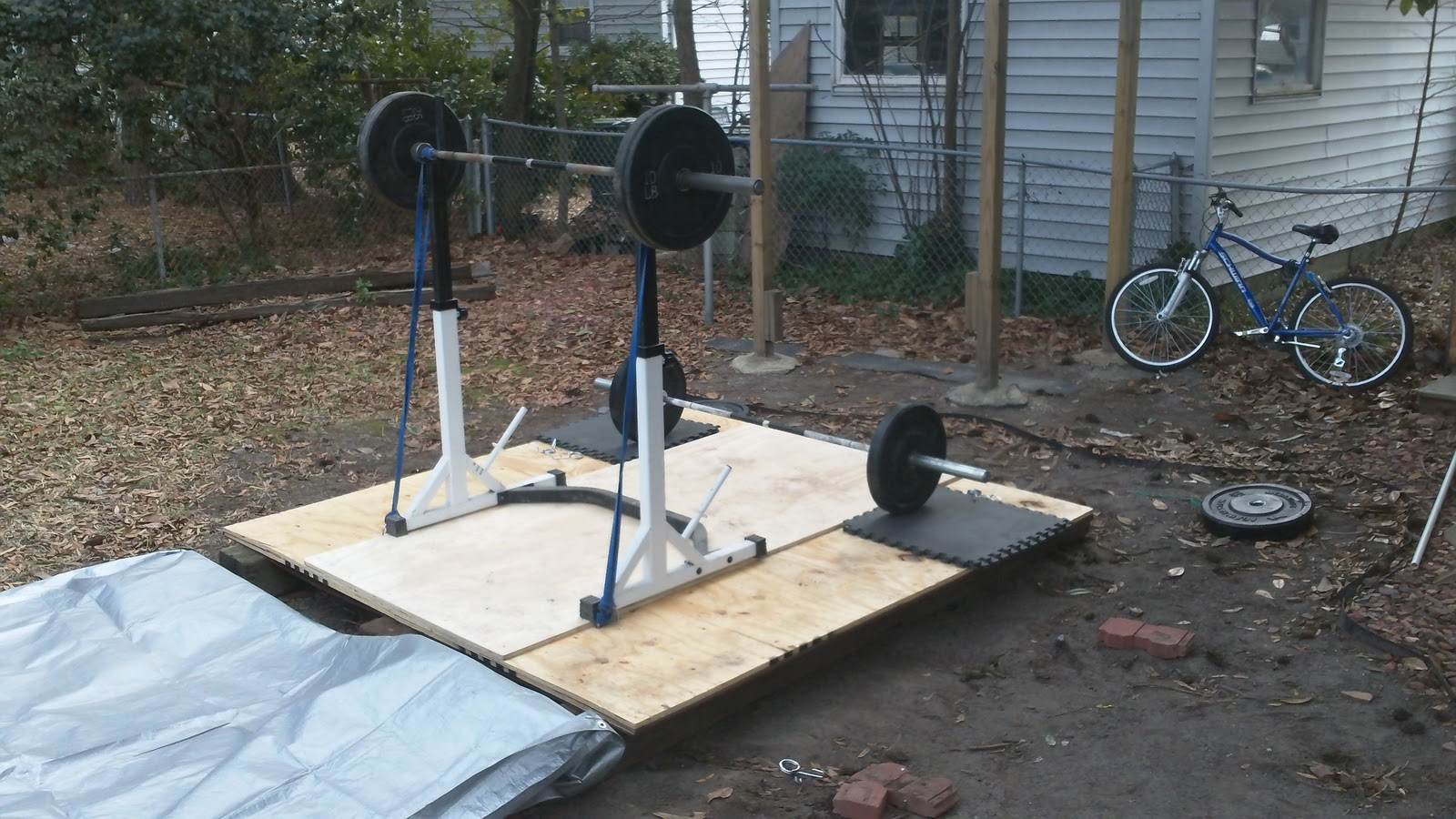 Superbe Benu0027s Backyard Gym